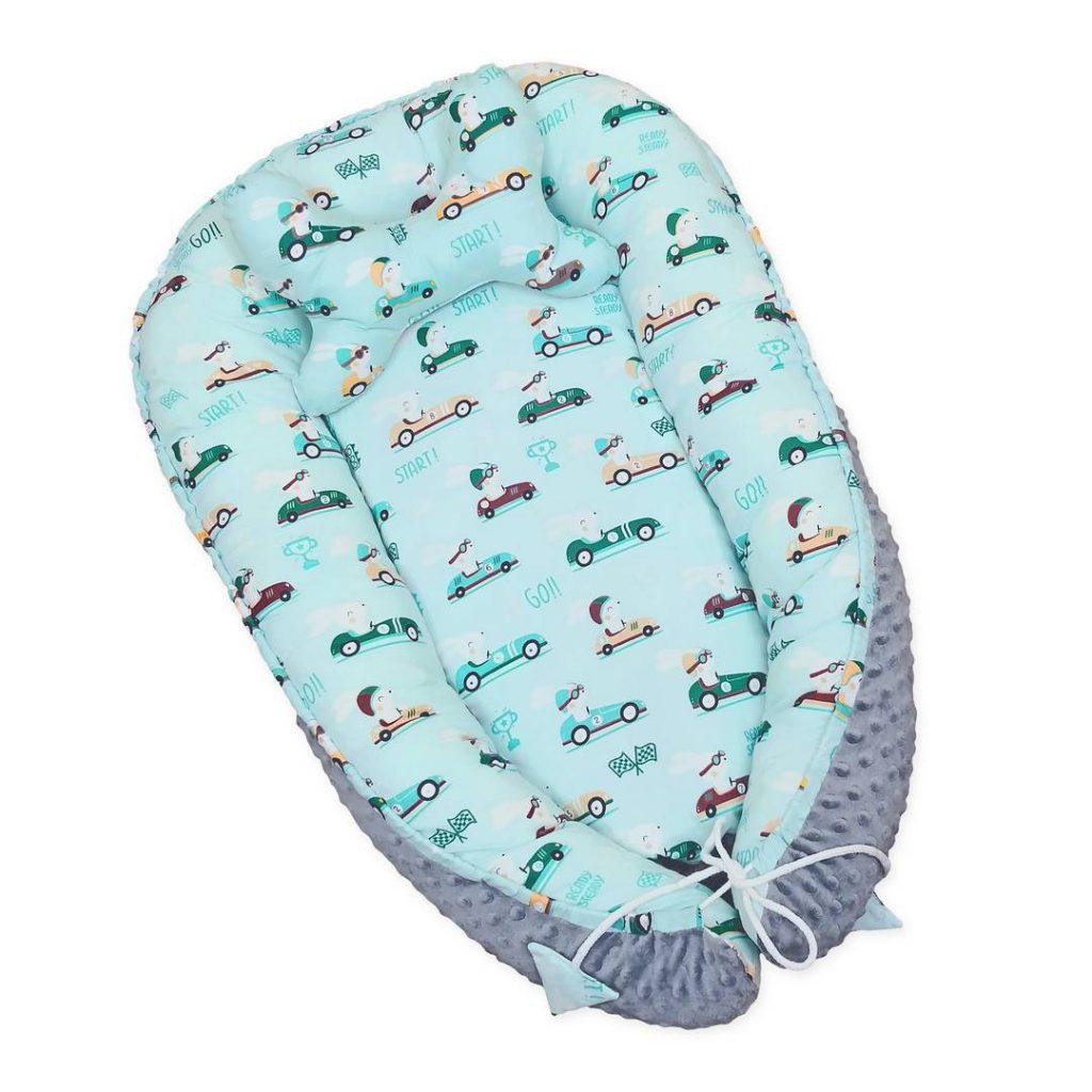 Bezpieczny kokon dla niemowlaka